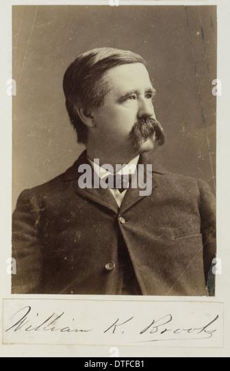 William Keith Brooks (1848-1908) - Stock Image