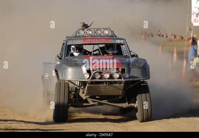 Jun 06, 2009 - Valle de la Trinidad, Baja Norte, Mexico - RANDY SWINK, winner of Overall Sportsman Truck Class, - Stock Image