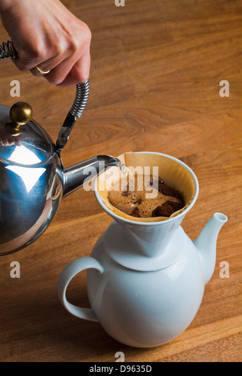 coffee pot germany stock photos coffee pot germany stock images alamy. Black Bedroom Furniture Sets. Home Design Ideas