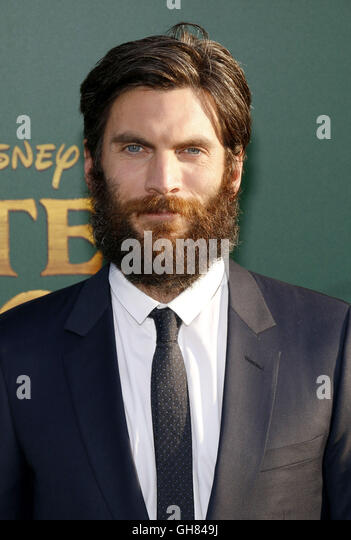 Los Angeles, USA. 8th August, 2016. Wes Bentley at the World premiere of 'Pete's Dragon' held at the - Stock-Bilder