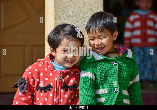 Kanpetlet Myanmar  city photos gallery : Children Of Myanmar Stock Photos & Children Of Myanmar Stock Images ...