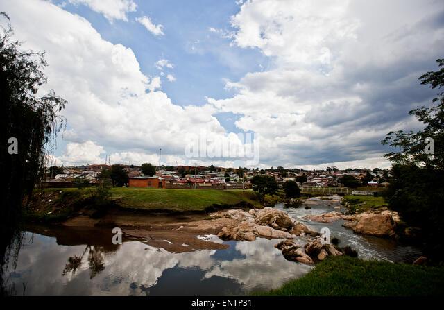Alexandra Township, Johannesburg, South Africa: - Stock Image
