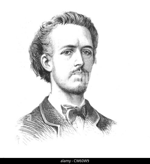Benjamin Godard, composer - Stock Image
