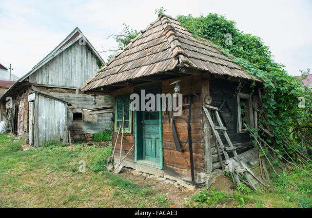 Beautiful old wooden houses in stock photos beautiful old wooden houses in stock images alamy - Houses maramures wood ...