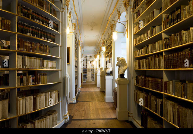 Anna Amalia Library In Weimar And Its Rococo Room