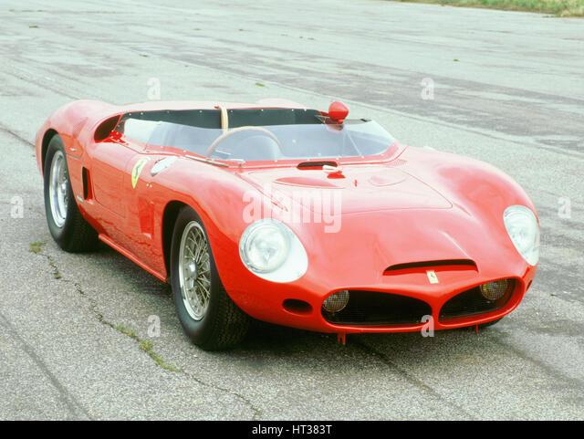 1962 Ferrari 196 SP V6. Artist: Unknown. - Stock Image