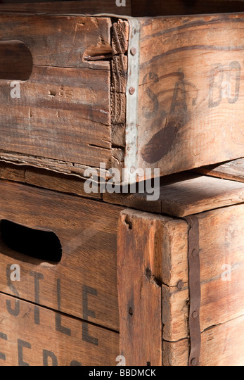 Wooden crate stock photos wooden crate stock images alamy for Uses for wooden boxes
