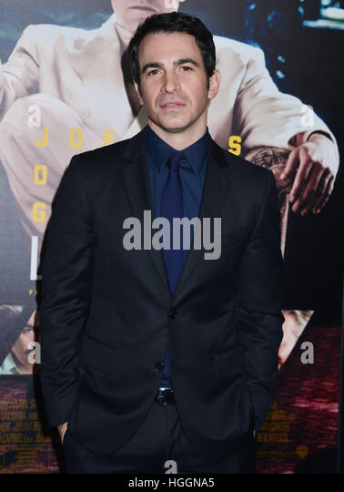 Los Angeles, USA. 09th Jan, 2017. Chris Messina arriving at the Live By Night premiere at the TCL Chinese Theatre - Stock Image