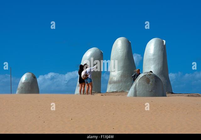Uruguay, Punta del Este - Stock Image