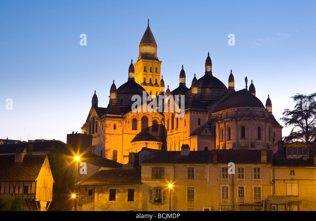 St. Front Cathedral, Periguex, Dordogne - Stock Image