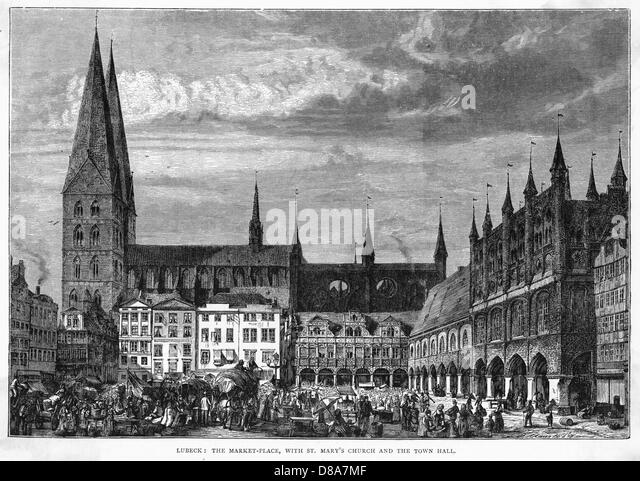 Germany Lubeck - Stock Image