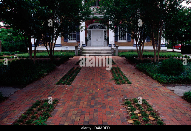 Battle-Friedman House (1835), Tuscaloosa, Alabama - Stock Image