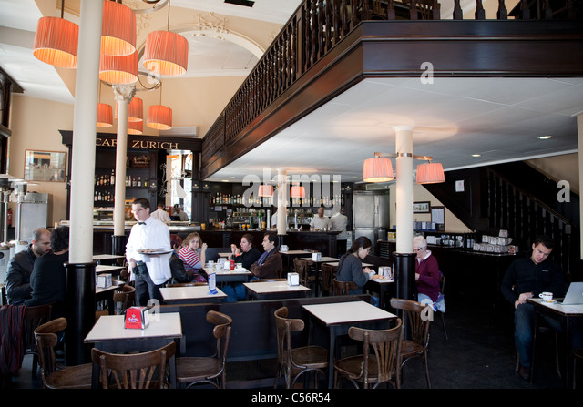 Cafe zurich stock photos images alamy