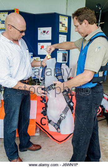 Hollywood Florida South Florida Safety Expo US Department of Labor Occupational Safety and Health Administration - Stock Image