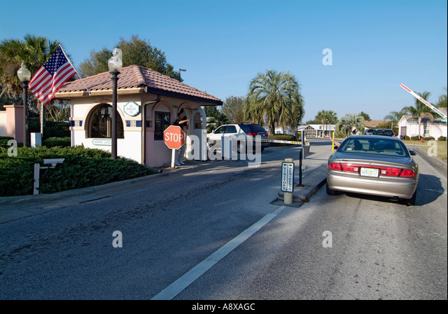 Gated Community Security Stock Photos Gated Community Security Stock Images Alamy