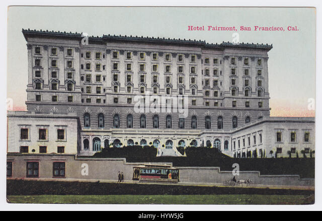 Hotel Fairmont, San Francisco - Stock Image