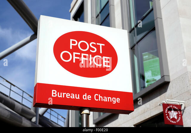 Bureau de change stock photos bureau de change stock - Post office bureau de change buy back ...