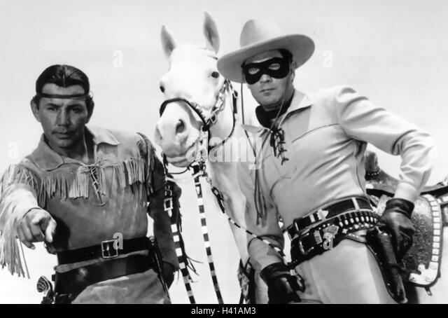 Clayton Moore Lone Ranger Stock Photos & Clayton Moore ...