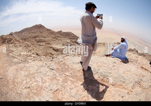 Ain Al Faydah, mount Jebel Hafeet, Al Ain, United Arab Emirates - Stock Image