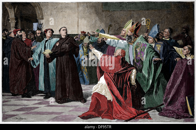 date luther nailed 95 theses