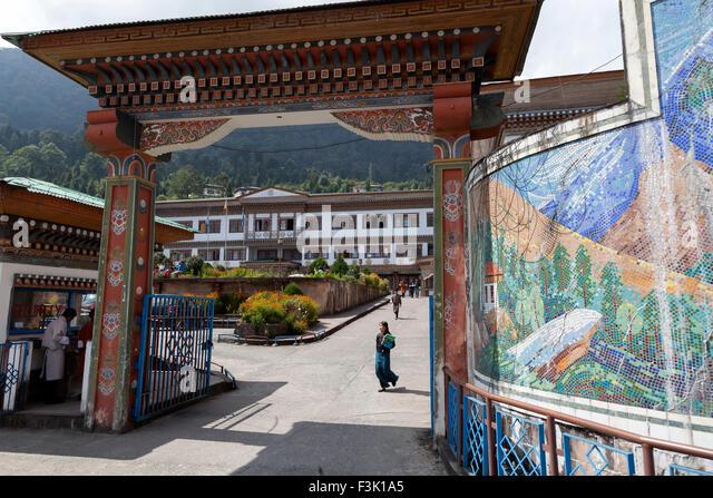 Gaeddu College of Business Studies, Bhutan - Stock Image