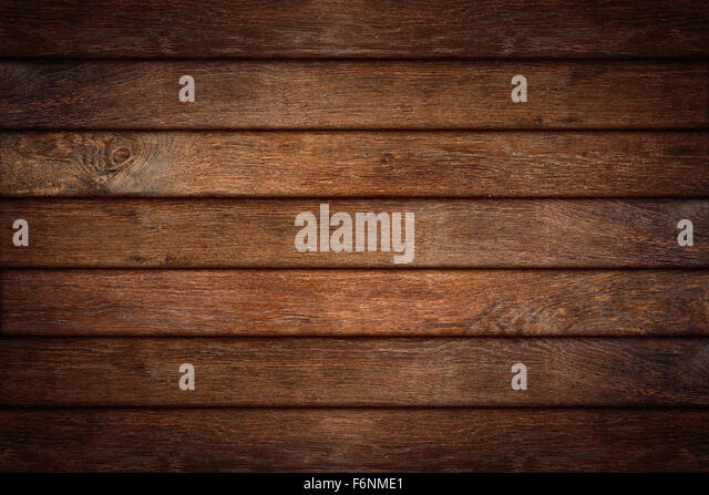 old oak wooden background - Stock Image