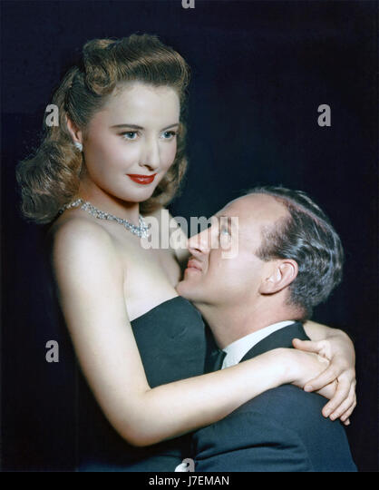 THE OTHER LOVE 1947 United Artists film with Barbara Stanwyck abd David Niven - Stock-Bilder