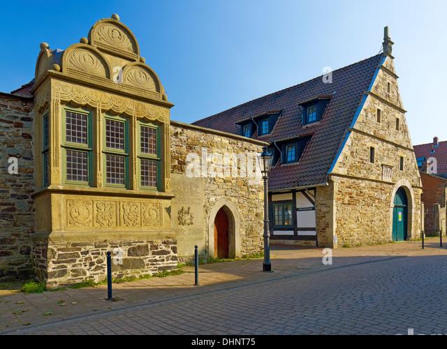 Archive house, Rinteln, Lower Saxony, Germany - Stock-Bilder