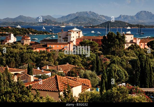 Italy Sardinia Costa Smeralda Hotel Cala di Volpe - Stock Image