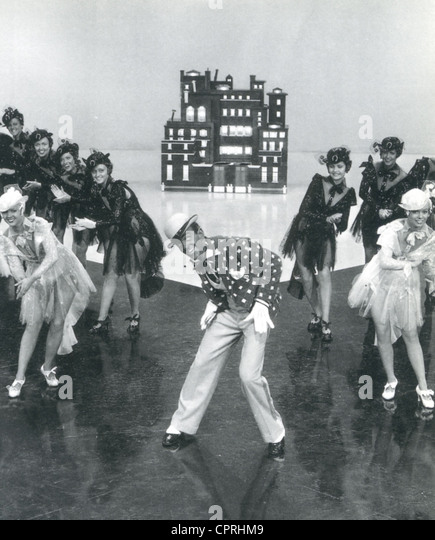 SWING TIME 1936 RKO film with Fred Astaire in blackface for the 'Bojangles of Harlem' number - Stock Image