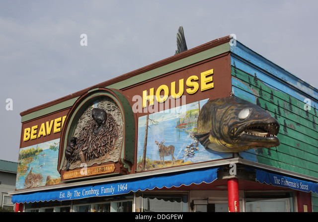 Beaver house stock photos beaver house stock images alamy for Building a house in minnesota