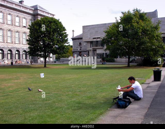 Trinity College Dublin Republic of Ireland - Stock Image