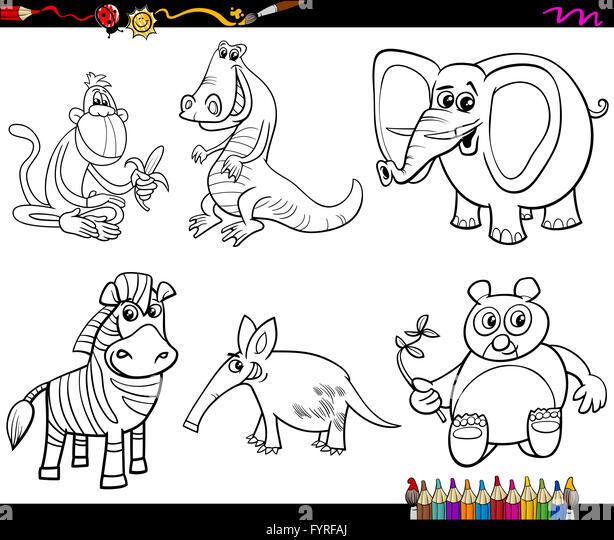 Kenya Animals Coloring Pages : Masai coloring pages
