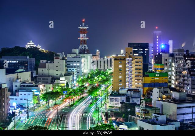 Wakayama City, Japan. - Stock-Bilder