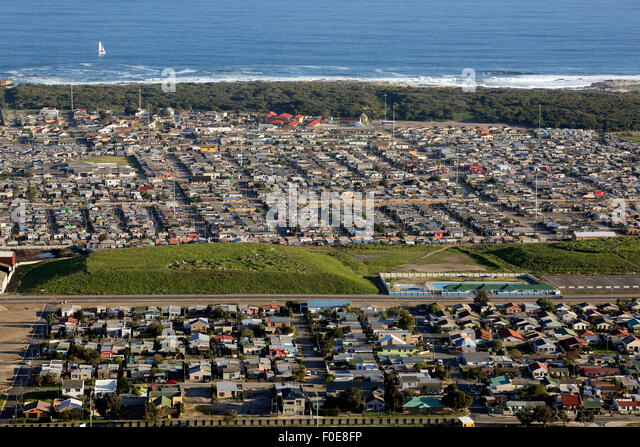 Zwelihle township in Hermanus, South Africa - Stock-Bilder