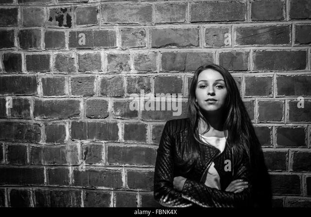 Portrait Of Girl - Stock Image
