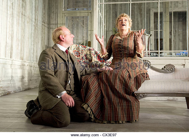 Hedda Gabler by Henrik Ibsen. A version by Brian Friel directed by Anna Mackmin. - Stock Image