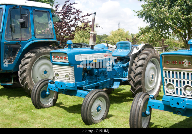 Ford Major Tractor At Vintage Tractor Display Sussex England C Hmj