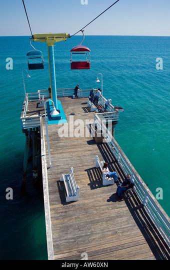 Daytona beach pier stock photos daytona beach pier stock for Daytona beach fishing