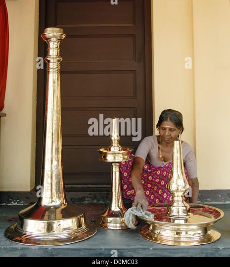 Traditional Kerala Lamp Stock Photos Traditional Kerala Lamp Stock Images Alamy