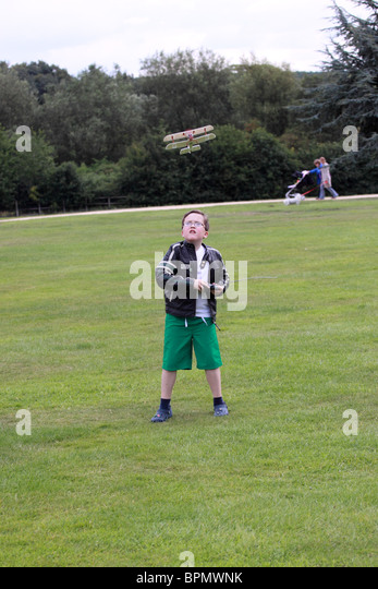 Lewis at Rufford Abbey, Nottinghamshire. - Stock Image