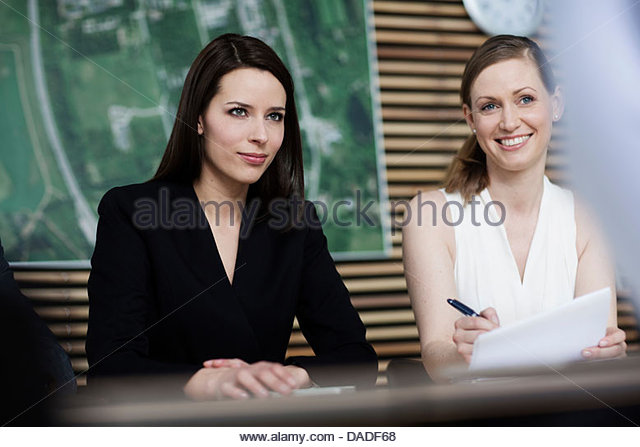 Women in business meeting - Stock Image