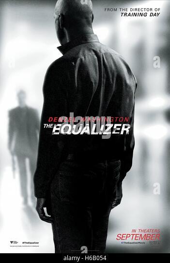 MOVIE POSTER THE EQUALIZER (2014) - Stock-Bilder