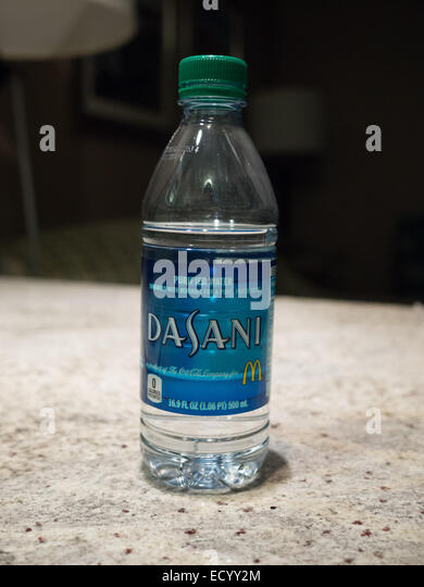 Dasani bottled water - Stock Image