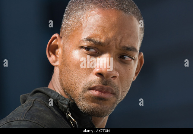I AM LEGEND  2007 Warner Bros film with Will Smith as Robert Neville - Stock Image