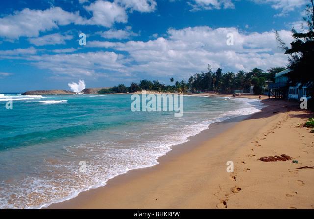 Jobos Beach, Isabela, Puerto Rico - Stock Image