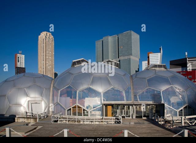 Floating pavilion rotterdam stock photos floating for Architecture rotterdam