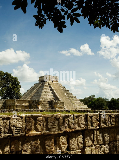 Chichen Itza, Mexico - Stock Image