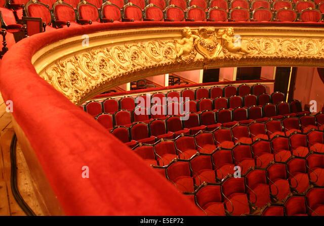 Salle garnier stock photos salle garnier stock images for Architecte cherbourg