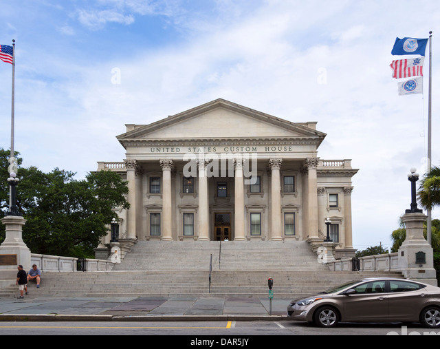 Customs House Charleston South Carolina Stock Photos